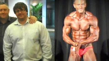Transformarea absolut uimitoare a unui barbat in doar un an de zile! A vrut sa se sinucida, dar sportul i-a salvat viata