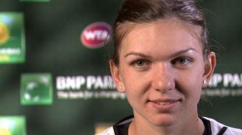 """""""Am fost foarte dezamagita!"""" Cel mai greu moment din 2015 pentru Simona. Ce o asteapta in urmatorul meci la Indian Wells. VIDEO"""
