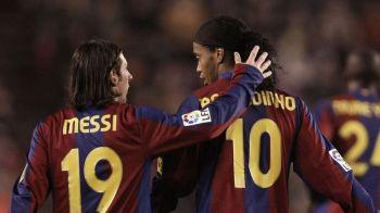 Transformarea Barcelonei de la Ronaldinho la Messi. Galerie FOTO fantastica cu 12 ani de istorie si fotbal total