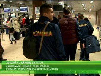 Fotbalistii nationalei au plecat spre Mondial: Romania vrea marele trofeu in Statele Unite! VIDEO