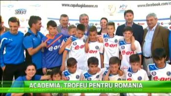 """Vrem sa fim celebri! Duceti-ne in Africa!"" - striga micii fotbalisti care vor intra in competie la Cupa Hagi-Danone!"