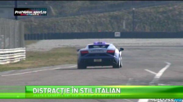 Messi al volanului, Ken Block, are probleme cu politia...la drifturi! Carabinierii italieni ii dau lectii cu bolizi de sute de cai :)