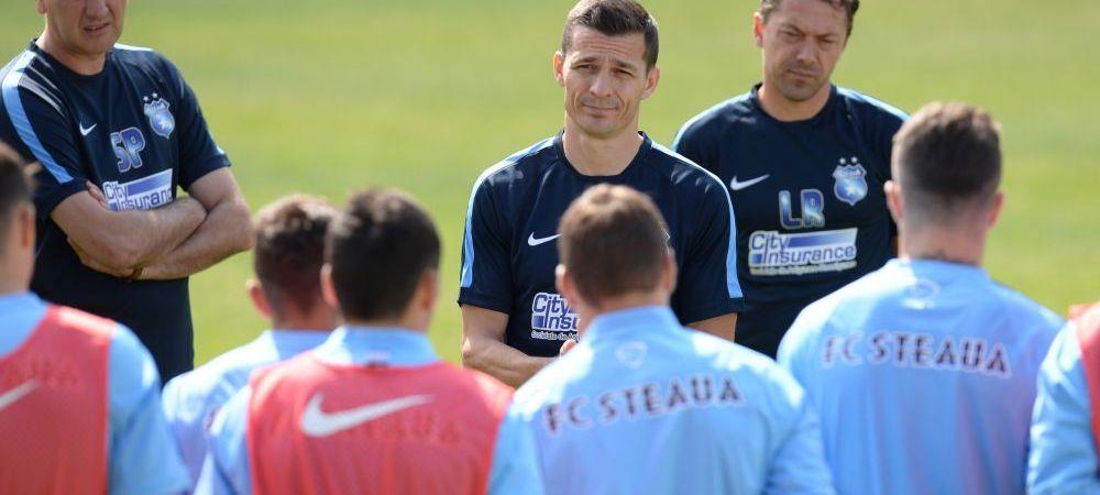 Galca vorbeste inaintea derby-ului TOTAL din Cupa cu Petrolul! Imagini in direct de la antrenamentul Stelei