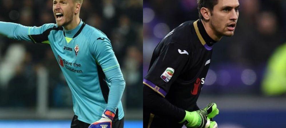 """Cea mai buna veste pentru Tatarusanu! """"E dorit de Liverpool si Juventus!"""" Ce se intampla in poarta Fiorentinei"""