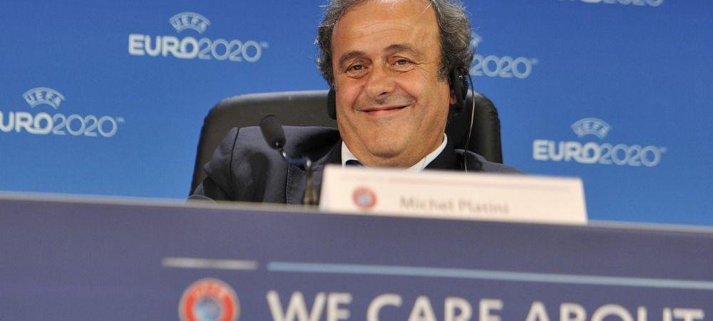 """Scandalul transferulului lui Neymar a alertat si UEFA! Platini vrea sa interzica implicarea tertilor in fotbal: """"E sclavagism"""""""