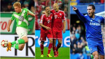 E vedeta sezonului in Bundesliga, dar Ribery nu il vrea la Bayern! Francezul ii sfatuieste insa pe sefi sa puna mana pe Hazard