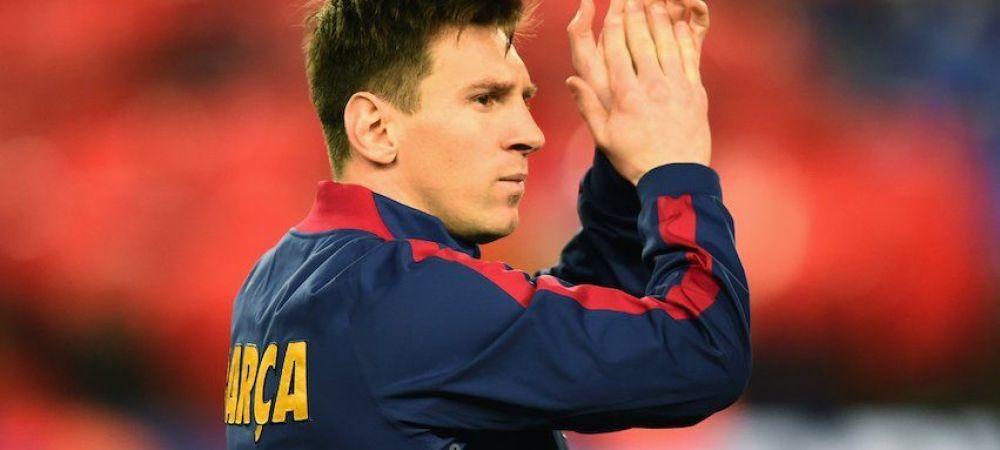 Imagine HORROR cu piciorul lui Messi! Nu isi mai poate pune gheata in picior insa doctorii spera sa joace cu Celta