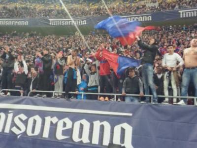 VIDEO Le-a trecut supararea fanilor? Galeria Stelei, alaturi de echipa la meciul cu Petrolul!