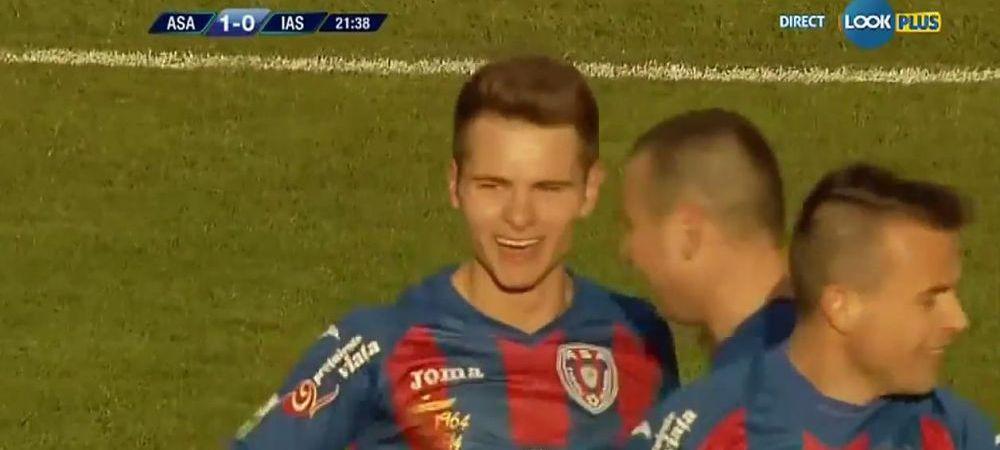 MESAJUL cu care ASA Targu Mures vrea sa termine prima in Romania!Capitanul Stelei e luat la MISTO de un pusti de 21 de ani! :)