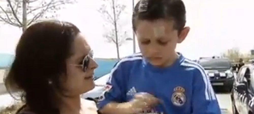Imagini incredibile! Ce i-a facut Cristiano Ronaldo acestui copil: A inceput sa planga si l-a INJURAT pe starul Realului. VIDEO