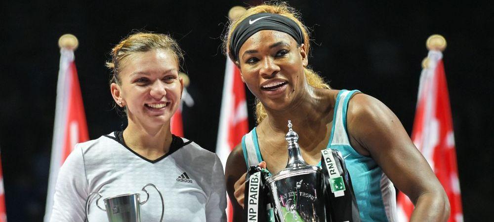 """""""5 motive pentru care Serena domina si azi tenisul"""", iar Halep o URMEAZA in top. Englezii scriu despre noul super duel din tenis"""