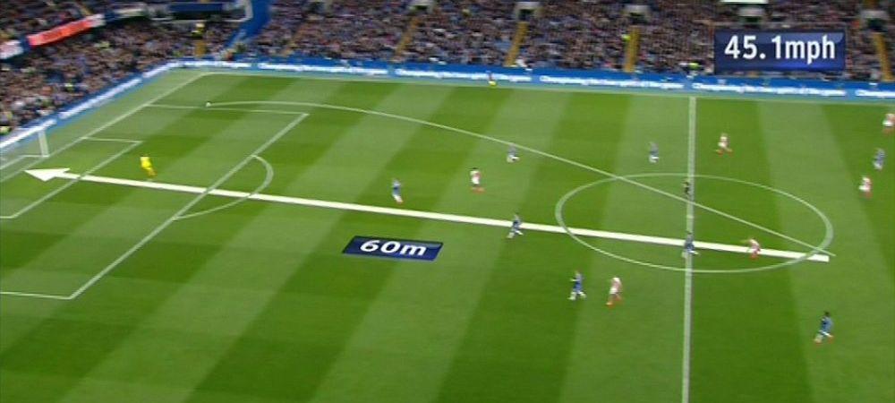 """""""E pacat pentru el!"""" Reactia incredibila a lui Mourinho dupa golul sezonului luat de Chelsea in Anglia, de la 60 de metri. VIDEO"""