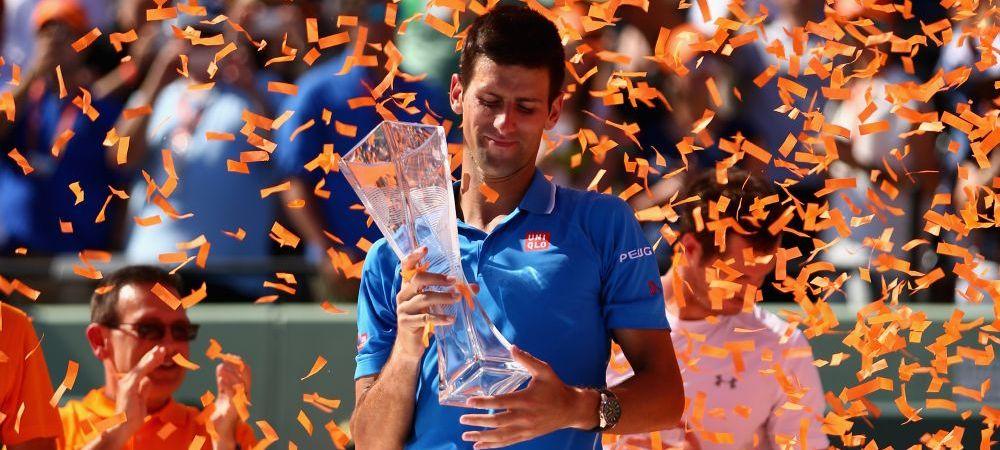 Novak Djokovic a castigat turneul de la Miami! Murray NU a rezistat: Nole l-a spulberat cu 6-0 in decisiv!