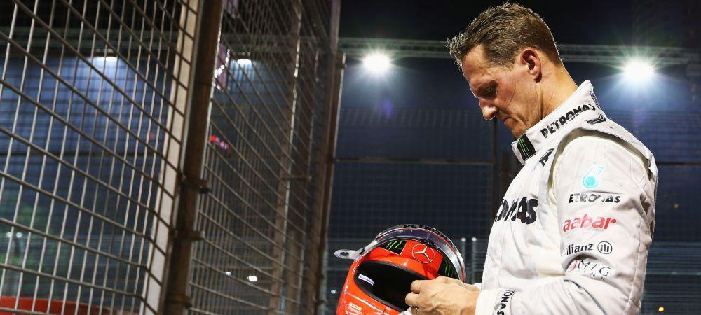 EMOTIONANT! SMS-ul l-a facut sa planga! Ce mesaj a fost trimis din casa lui Michael Schumacher:
