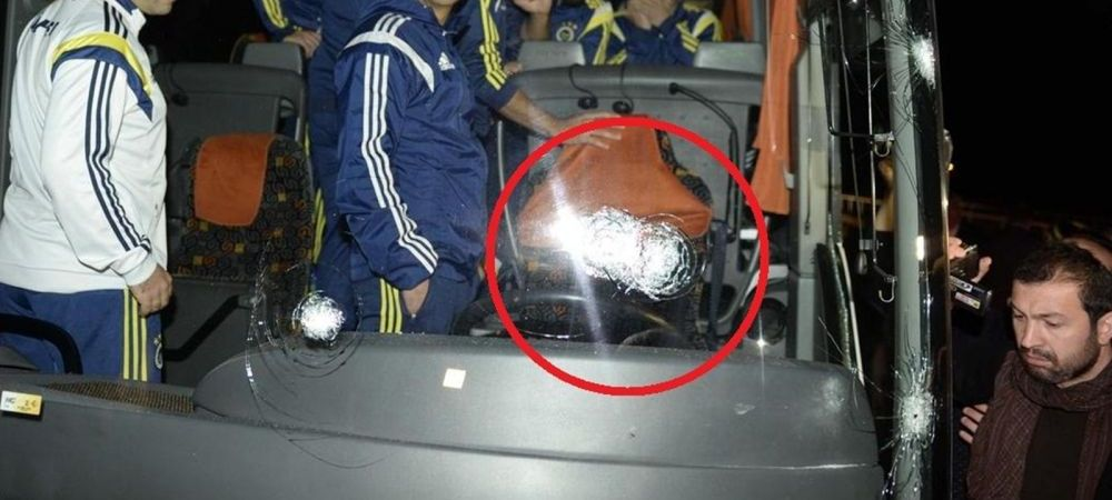 Turcii au SUSPENDAT campionatul dupa atacul armat asupra autocarului lui Fenerbahce! Cat timp nu se mai joaca