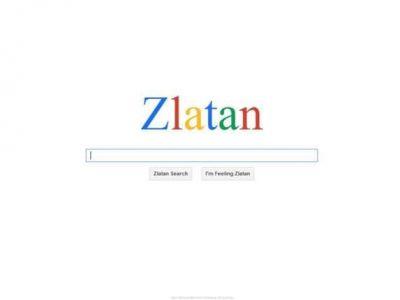 Cat de COOL trebuie sa fii ca sa ai propriul tau motor de cautare pe internet? ZLATAN COOL :) Ibrahimovic a dat lovitura si in online
