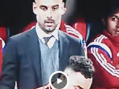 """Guardiola, surprins de camere! Nemtii sunt uimiti: """"E bun si la asta?"""" Ce s-a apucat sa faca la marginea terenului: VIDEO"""