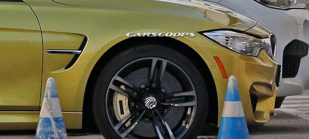 FOTO SPION. Cum arata noul BMW M3! Masina a fost surprinsa la testele nemtilor