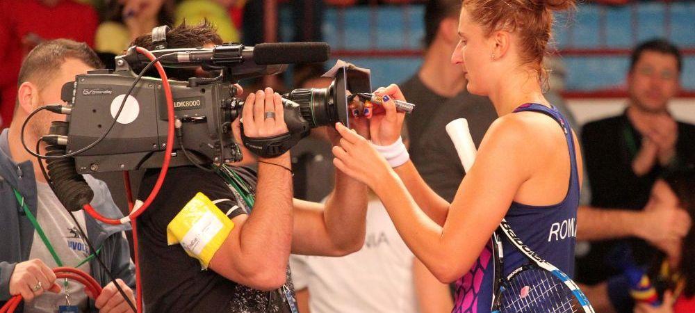 Irina Begu a fost eliminata de Kerber in sferturi la Charleston