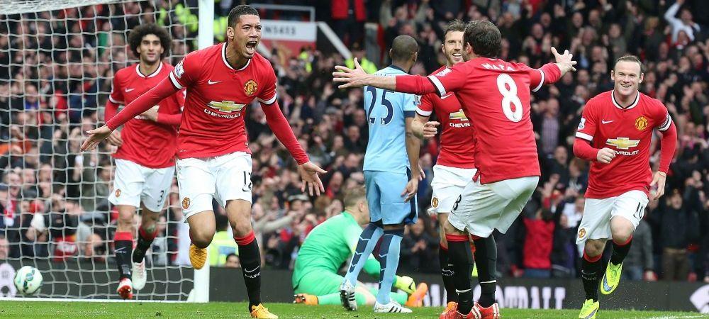 United e ca si calificata in grupele Champions League dupa 4-2 cu City! Young, gol si pasa de gol, Aguero a reusit degeaba o dubla