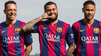 Prima reactie oficiala a Barcelonei, dupa ce agentul lui Dani Alves a anuntat plecarea brazilianului de pe Nou Camp! Ce spune Bartomeu
