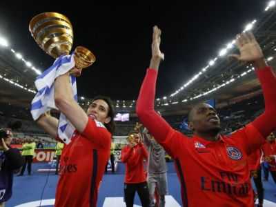 Ibra si Cavani SHOW! PSG a castigat Cupa Ligii Frantei dupa 4-0 cu Bastia. VIDEO