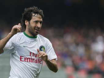 VIDEO | Raul a inscris primul gol in America! Legendarul atacant spaniol, un adevarat fenomen la 37 de ani
