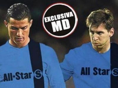 Cele mai tari vedete ale Ligii, impreuna pe teren; Messi si Ronaldo, coechipieri! NU e doar un vis, UEFA pregateste un mega proiect
