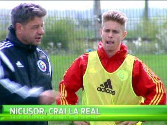"""El este romanul care viseaza sa joaca cu Ronaldo in echipa Realului: """"E o bucurie mare, nu orice jucator ajunge aici!"""""""