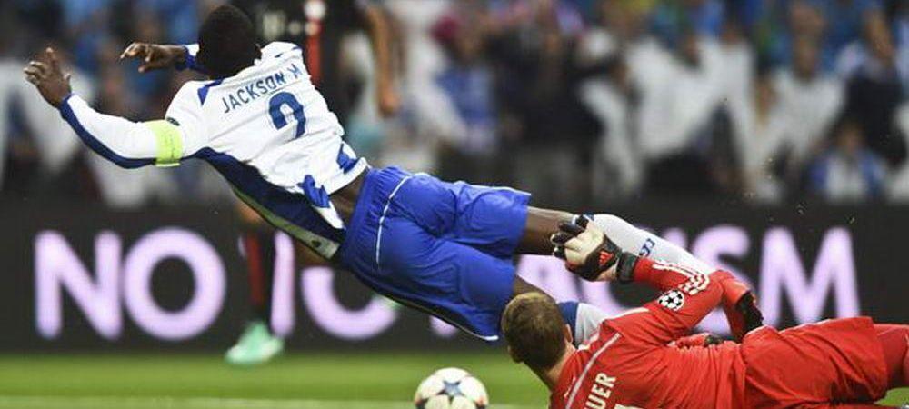 Ce va spune Mircea Lucescu dupa faza asta?Neuer, iertat de eliminare in minutul 2 al meciului cu Porto! FOTO