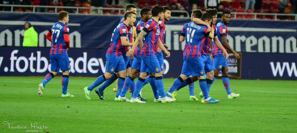 RECORD de vis pentru Steaua! Cifrele arata ca echipa din Ghencea e tot mai aproape de titlu, chiar daca tremura pe final: