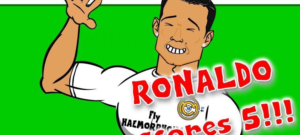 INFOGRAFIC | Cele 300 de goluri ale lui Cristiano Ronaldo la Real Madrid! Vezi recordurile portughezului