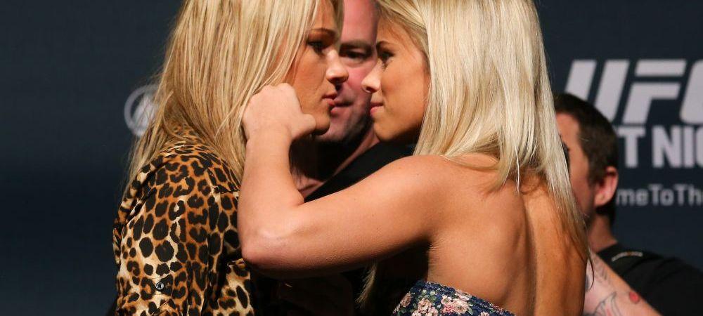 Doua blonde, experte in batai, imbracate de gala, puse fata in fata... Ce se putea intampla? Cum continua imaginea asta. FOTO