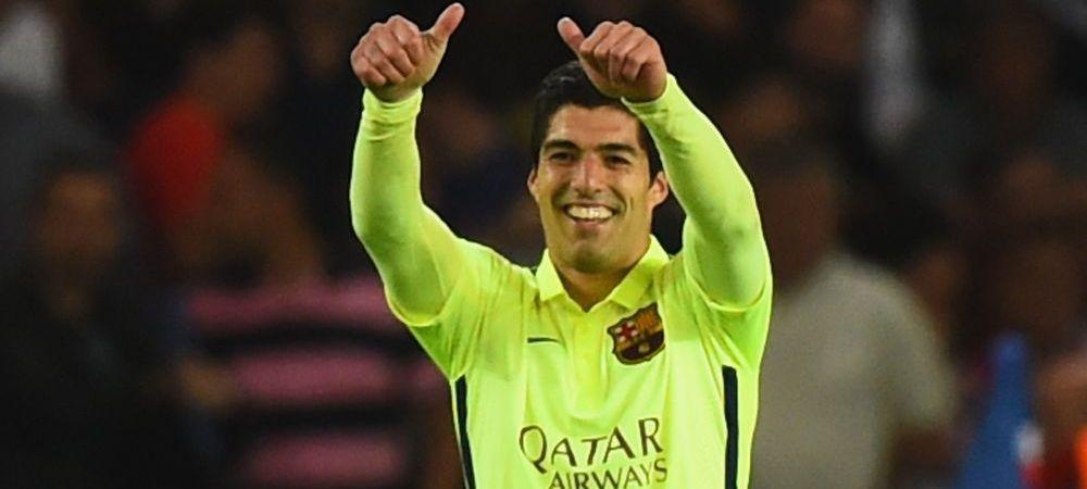 FABULOS! :)) Un fan a surprins cum a tipat Suarez dupa golul 3 marcat celor de la PSG! Sunetul e unicat! VIDEO