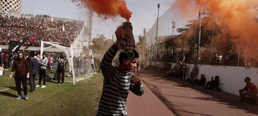 CUTREMURATOR: 11 oameni condamnati la moarte dupa un meci de fotbal! Decizia anuntata azi in Egipt