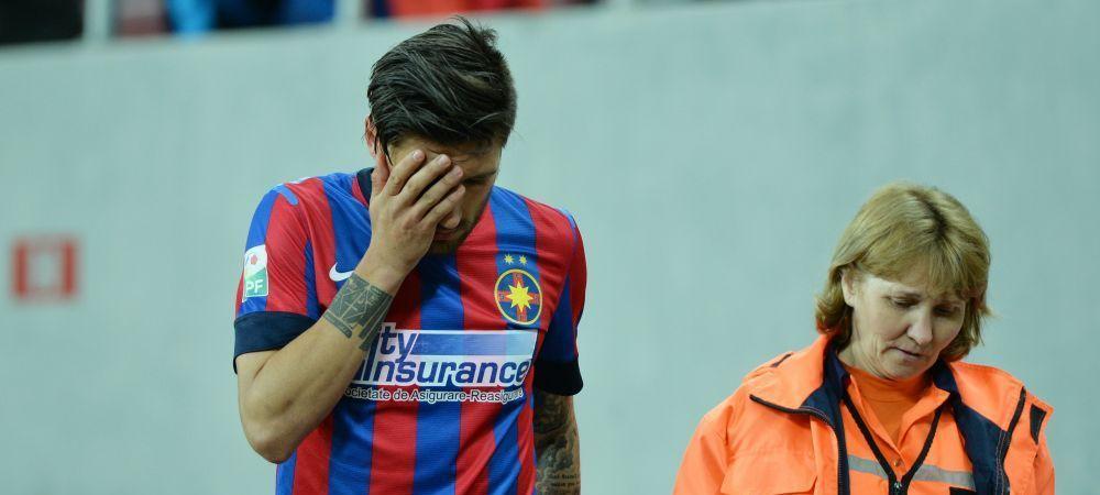 O LUNA sunt OUT de la Steaua. Papp si Rusescu vor fi operati dupa meciul cu Otelul. Ce probleme au: UPDATE