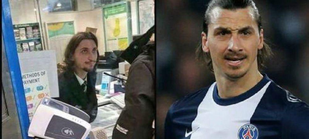 """""""Zlatan s-a plictisit de fotbal si s-a angajat la METROU"""" Imaginea zilei in Anglia! Cine vinde bilete? FOTO"""