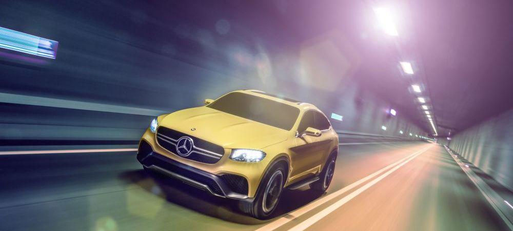 Lovitura directa pentru BMW! Mercedes a lansat GLC Coupe, concurentul PERFECT pentru X4! VIDEO
