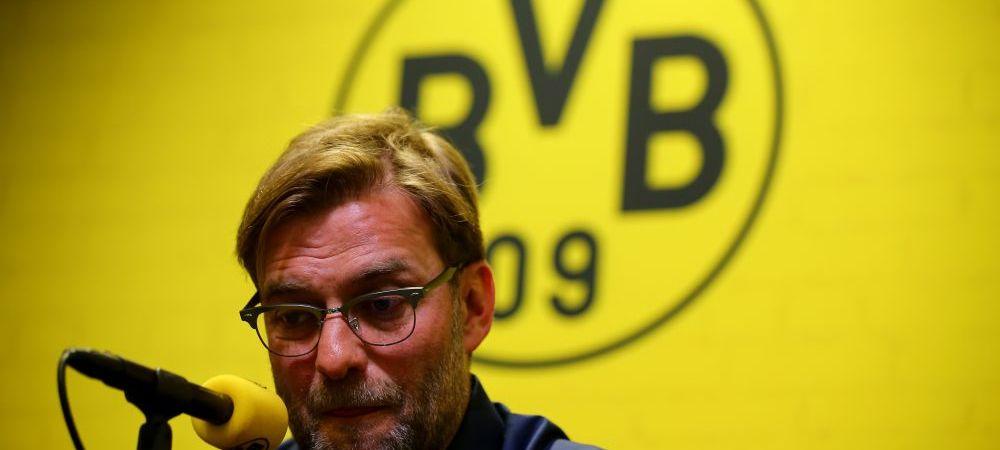 Primul refuz al lui Klopp! Antrenorul a fost sunat imediat dupa ce si-a anuntat plecarea de la Dortmund, insa a declinat oferta unei echipe din Anglia