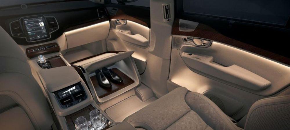 Volvo redefineste luxul suprem la Salonul Auto de la Shanghai cu o limuzina care devine un hotel de 5 stele pe patru roti