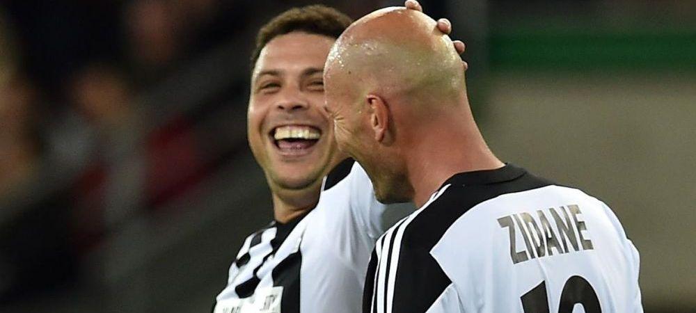 """Zidane nu s-a schimbat deloc, RONALDO s-a transformat incredibil! Cum arata astazi """"Il Fenomeno"""". Tocmai a revenit pe teren. FOTO"""