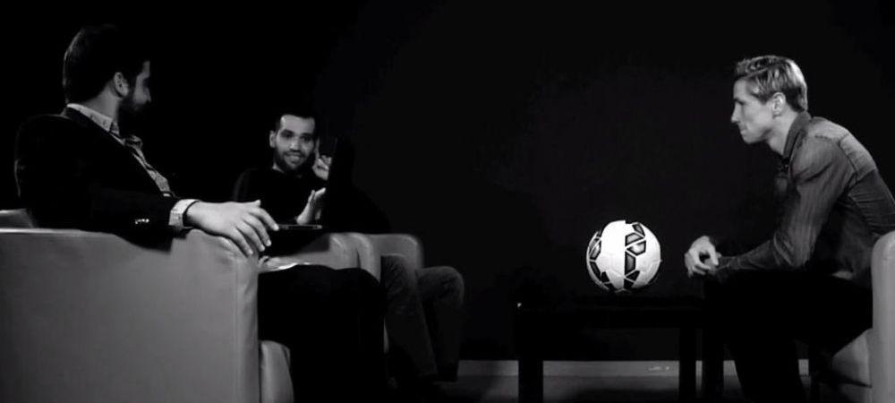 EMOTIONANT! Interviul lui Fernando Torres cu un prieten diagnosticat cu ALS! I-au dat lacrimile de mai multe ori! VIDEO