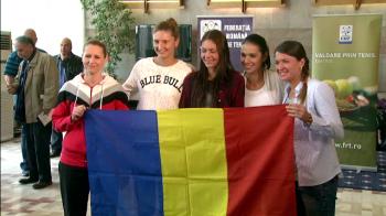 Pe cine ar putea da afara Simona Halep din echipa de Fed Cup a Romaniei, primita pe COVORUL ROSU in tara dupa victoria cu Canada
