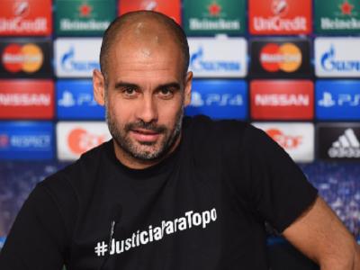 Guardiola, anchetat de UEFA pentru tricoul purtat inainte de meciul cu Porto! De ce si-a imprimat acest hashtag pe tricou: