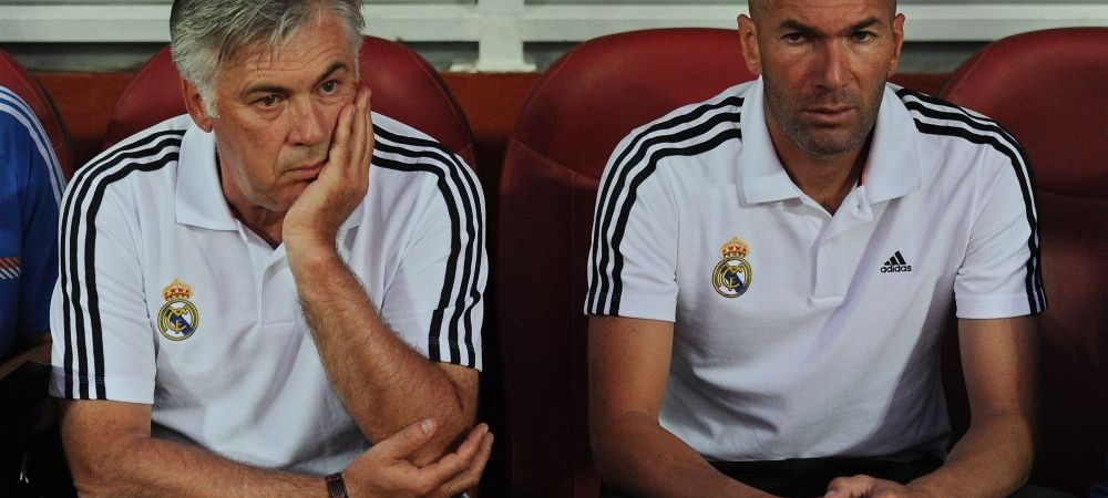 """""""Suntem cu ochii pe el, e ca Ronaldo si Messi"""". Zidane ii da de gol pe sefii Realului si dezvaluie numele fotbalistului pe care ar vrea sa il fure lui Mourinho"""