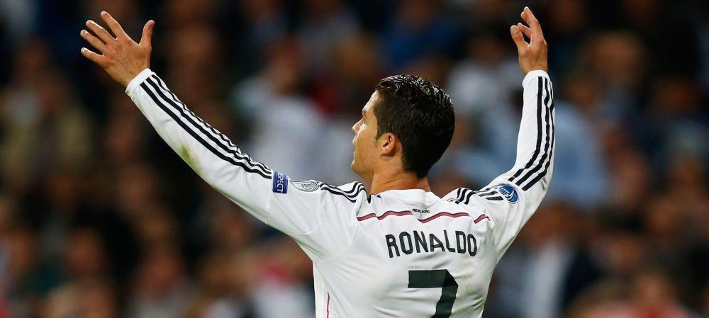 """GENIAL! Ronaldo e primul jucator care canta imnul Champions League inainte de meci! """"Tine cu Liga de mic!"""" :) VIDEO"""