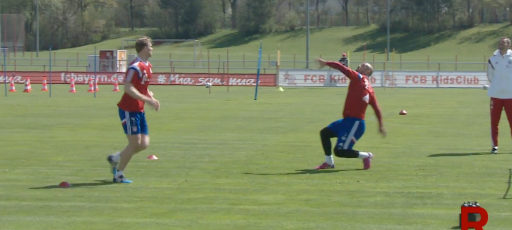 Bayern o ameninta pe Barca si cu portarii :) Pepe Reina, executie spectaculoasa la antrenamente. Cum a raspuns Barcelona: VIDEO