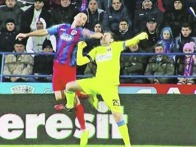 Blestemul stelistilor: Gabi Muresan s-a accidentat si risca sa nu joace in meciul de miercuri cu Steaua!