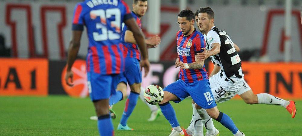 """Stanciu, dubla cu care o tine in viata pe Steaua, incheie meciul suparat! Va fi suspendat cu ASA: """"Nu am auzit fluierul arbitrului"""""""