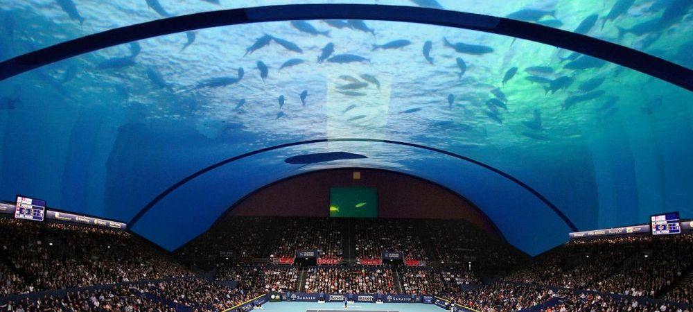 FANTASTIC! Simona Halep, chemata sa joace in prima arena SUBACVATICA de tenis! Nebunia pregatita de arabi